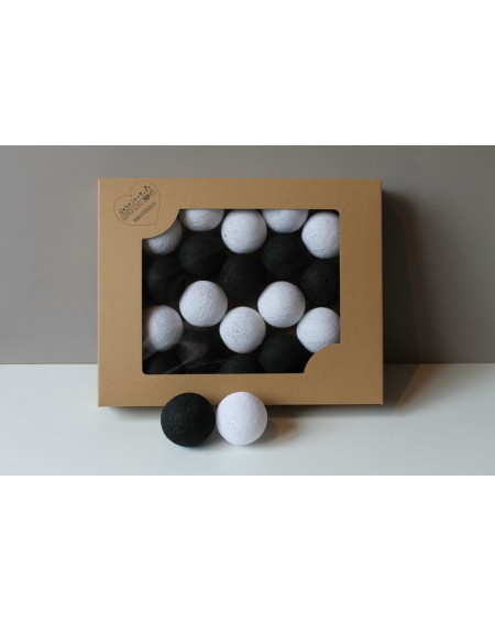 Cotton Balls Black&White 50 szt.
