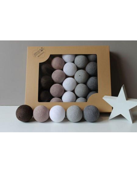 Cotton Balls Chestnut 50 szt.