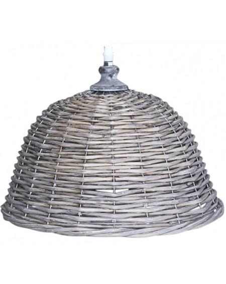 Lampa wisząca wiklinowa
