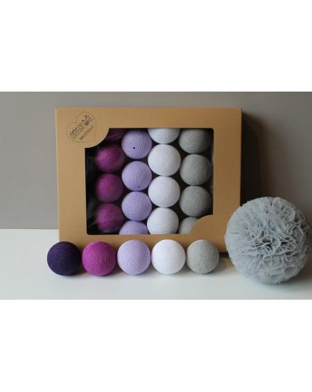Cotton Balls Violets 35 szt.