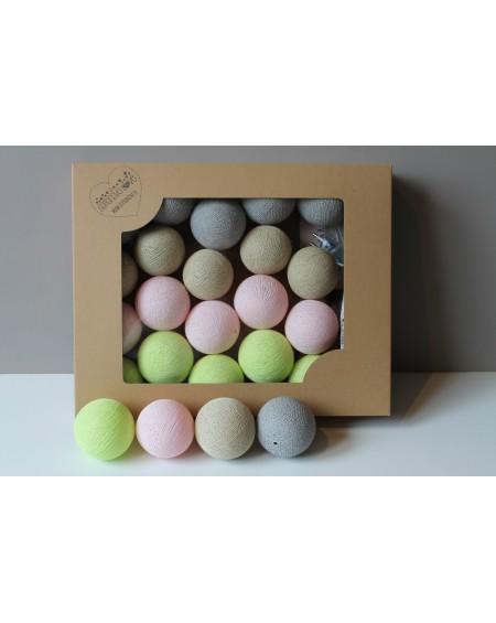 Cotton Balls Limonkove 10 szt.