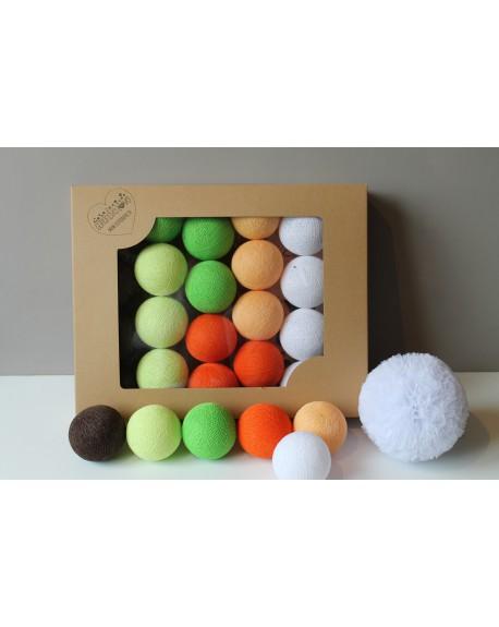 Cotton Balls Orange Tree 35 szt.