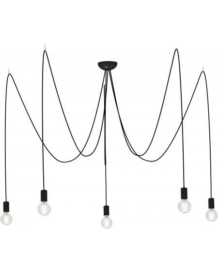 Lampa wisząca SPIN black V