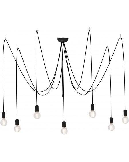 Lampa wisząca SPIN black VII