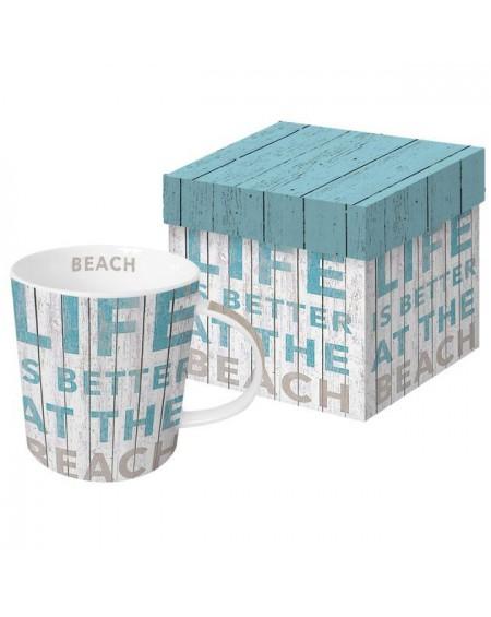 Kubek porcelanowy Beach