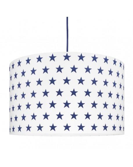 Lampa sufitowa gwiazdki granatowe
