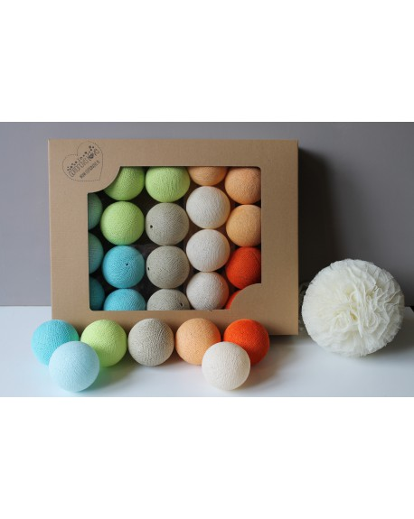 Cotton Balls Fun Set 50 szt.