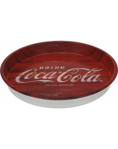 Taca metalowa Coca-Cola