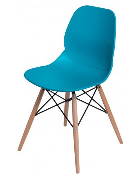 Krzesło Couche turkusowe
