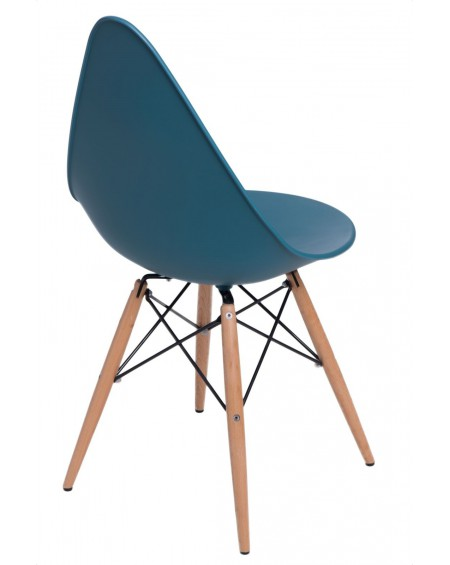 Krzesło Ruer navy green