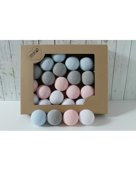 Cotton Balls Pastel Candy 35 szt.