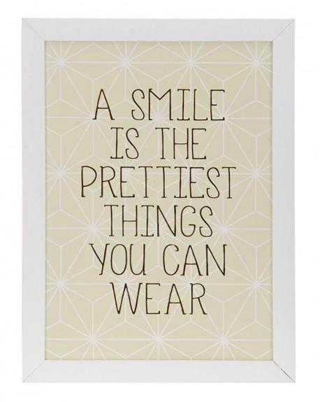 Dekoracja ścienna Smile
