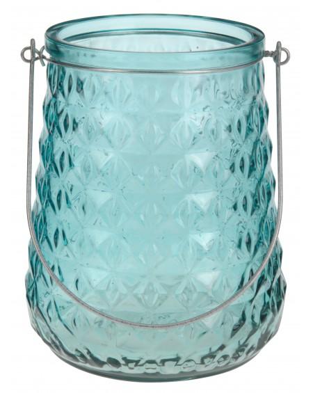 Lampion szklany morski