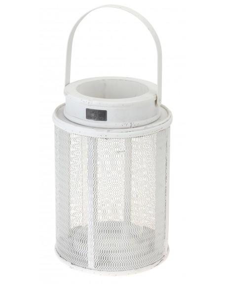 Lampion okrągły biały