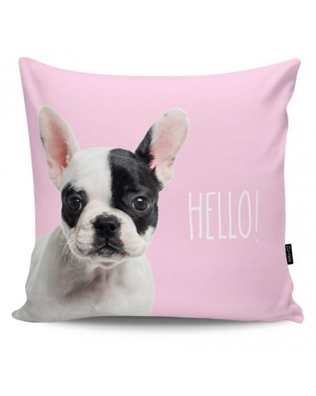 Poduszka dekoracyjna Frenchy white