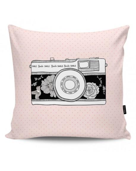 Poduszka dekoracyjna Retro Camera