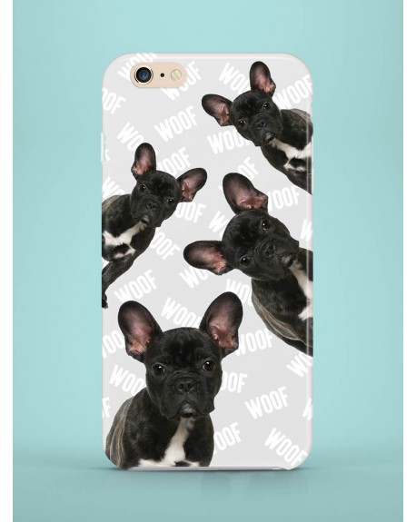Etui na telefon Frenchies attack grey