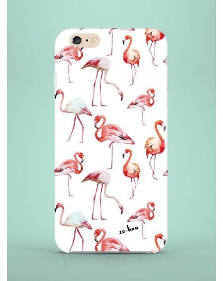 Etui na telefon Flamingos