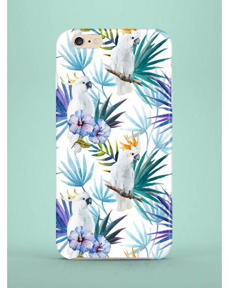 Etui na telefon Tropical Parrots