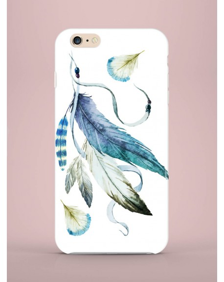 Etui na telefon Feathers