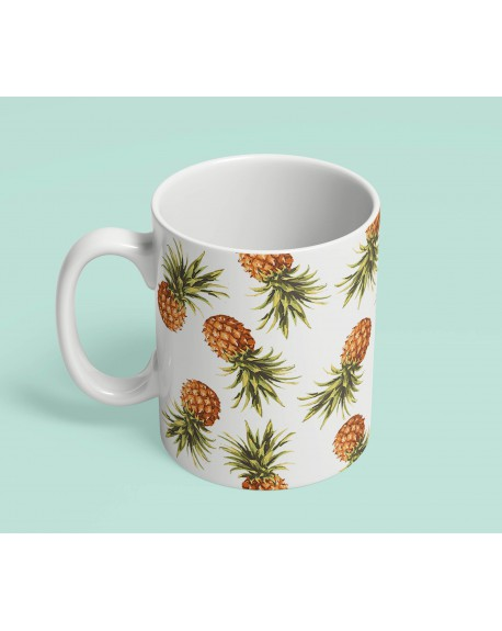 Kubek ceramiczny Pineapples