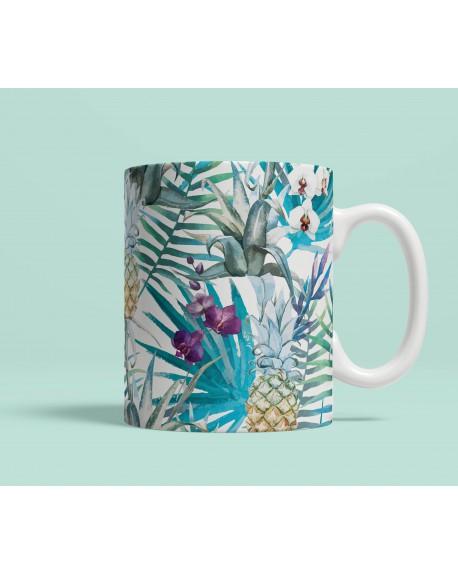 Kubek ceramiczny Exotic Pineapples