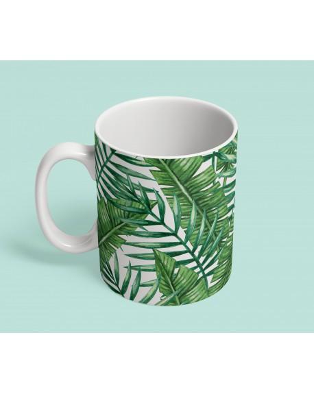 Kubek ceramiczny Palm Leaves IV