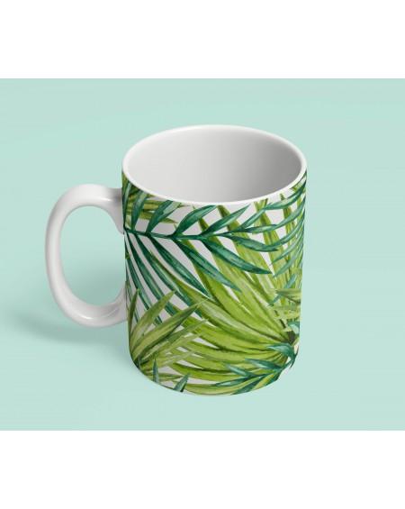 Kubek ceramiczny Palm Leaves V