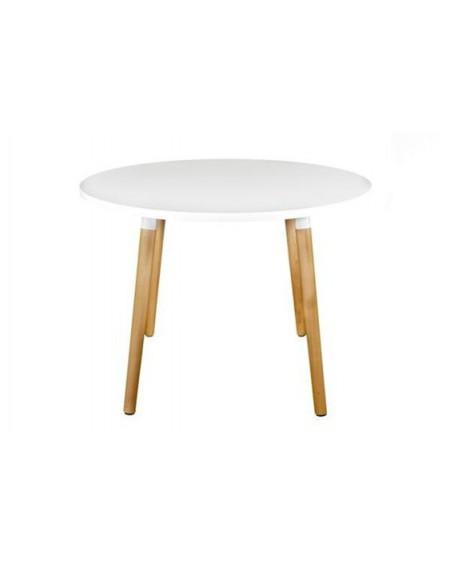 Stół Copine biały okrągły 100