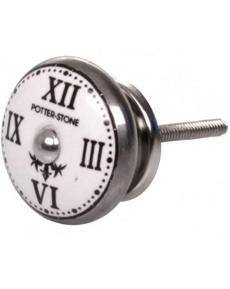 Gałka meblowa zegar