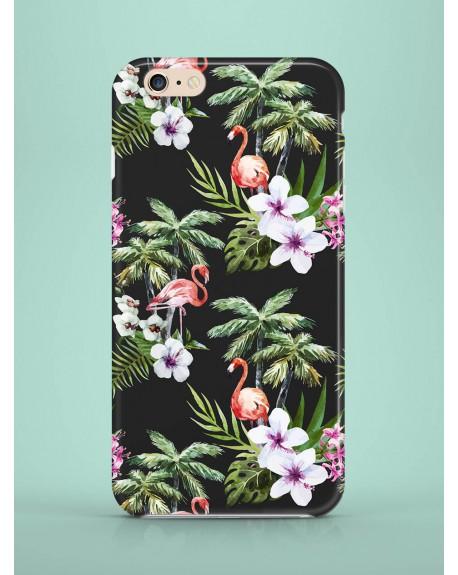 Etui na telefon Exotic Flamingos