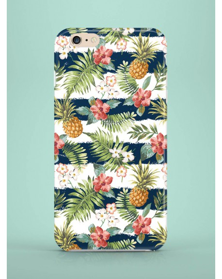Etui na telefon Dark Striped Pineapples