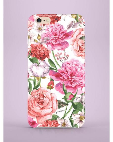 Etui na telefon Peonies and Roses