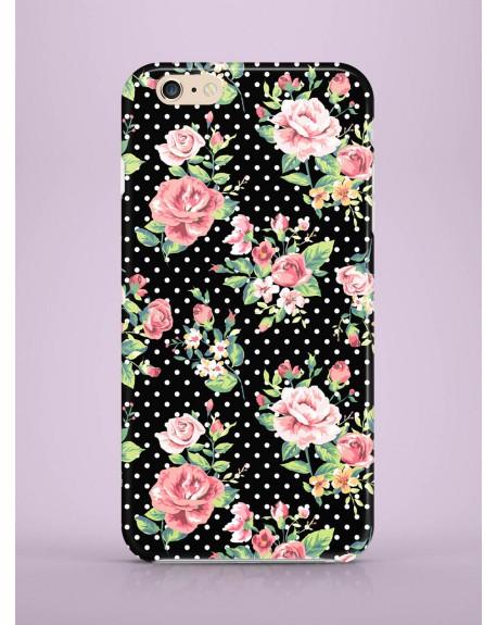 Etui na telefon Black Roses
