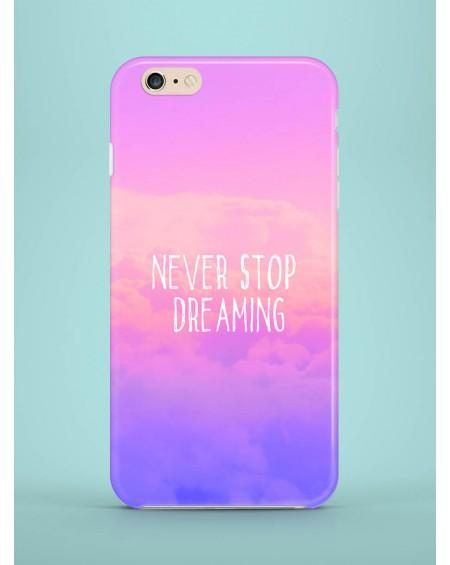 Etui na telefon Never stop