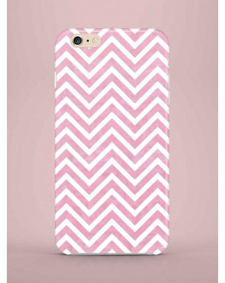 Etui na telefon ZigZag light pink