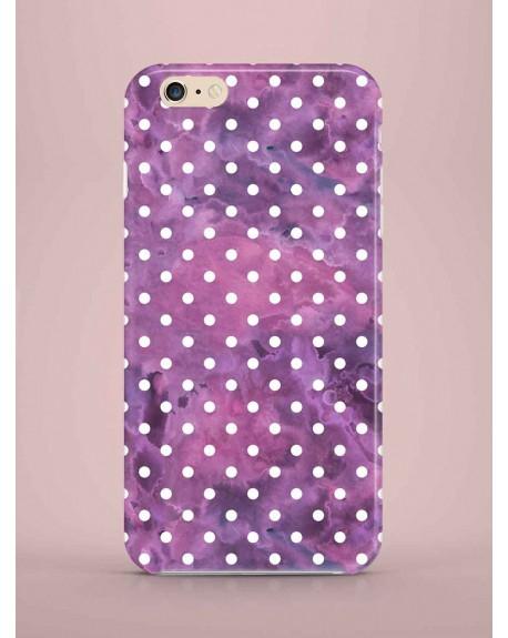Etui na telefon Dots Purple