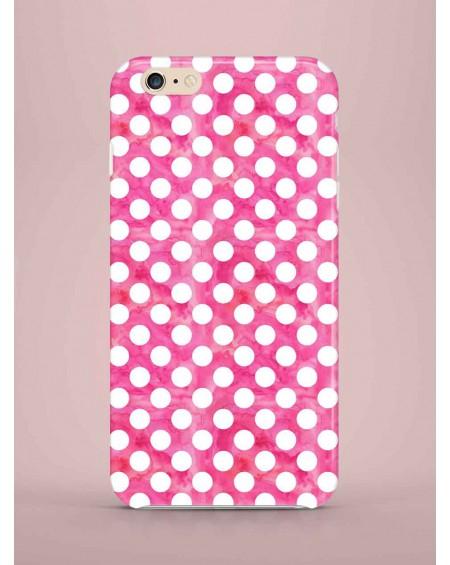 Etui na telefon Dots pink