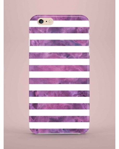 Etui na telefon Stripes purple