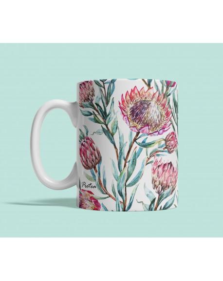 Kubek ceramiczny Tropical Protea