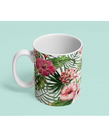 Kubek ceramiczny Tropical Flowers
