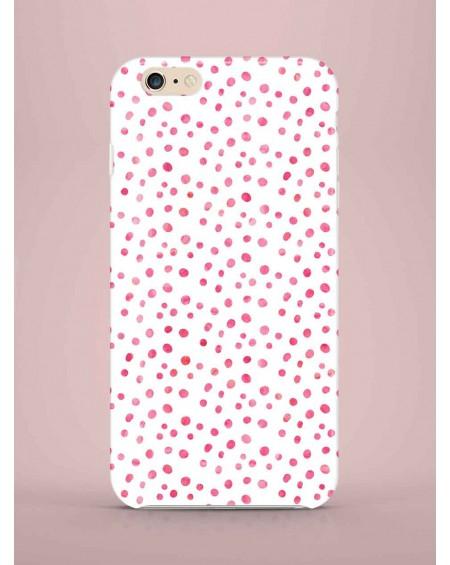 Etui na telefon Pink Dots