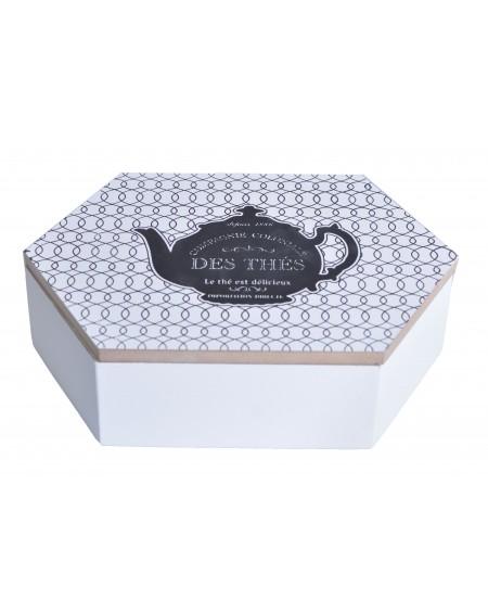 Pudełko na herbatę z imbrykiem