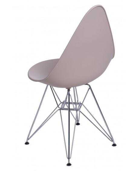Krzesło Ruer chrome beige
