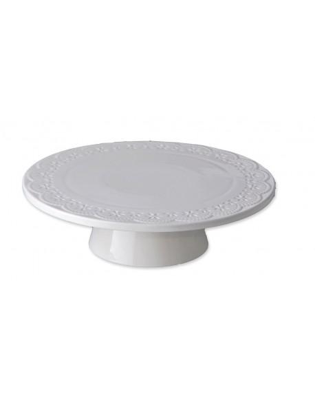 Patera porcelanowa koronka