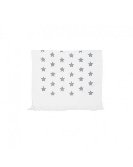 Ręcznik kuchenny w gwiazdki szare