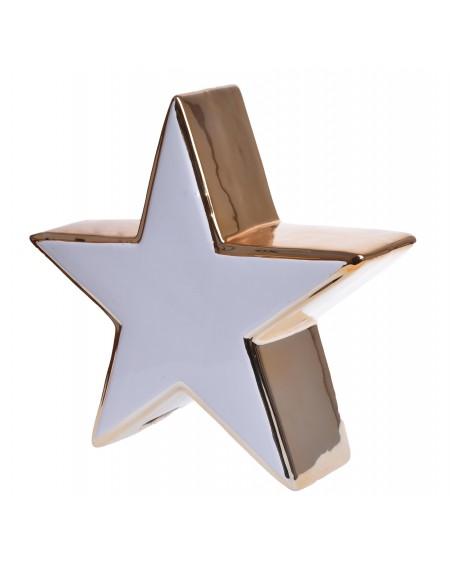 Gwiazda biało-złota