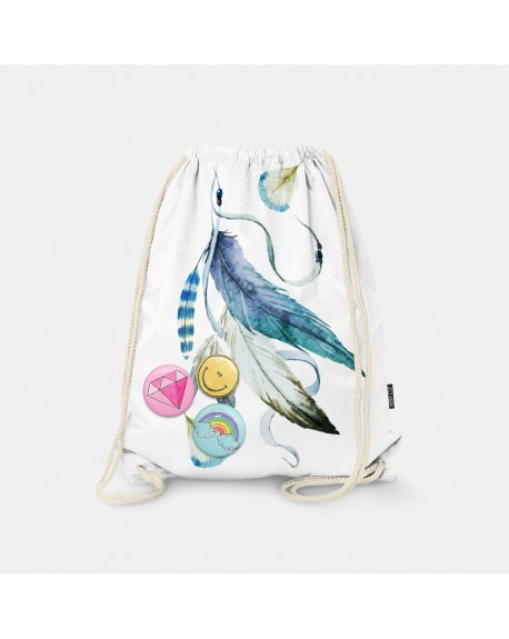 Worek-plecak Feathers