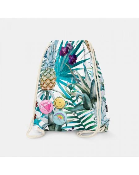 Worek-plecak Exotic Pineapples