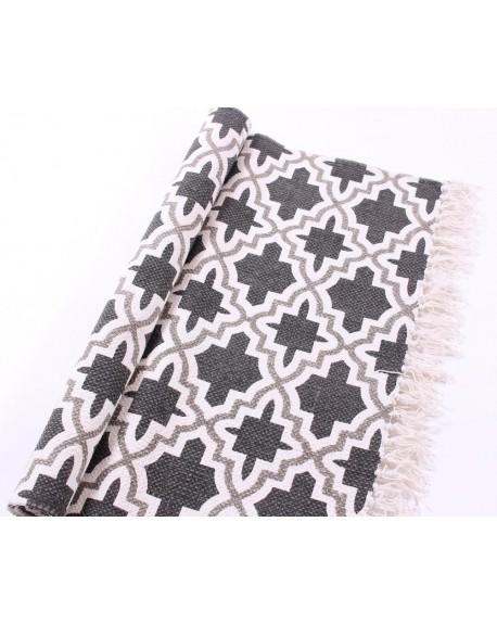 Dywan bawełniany Geometry grey